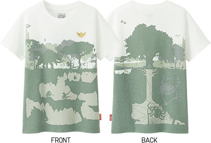 ユニクロ 任天堂 Tシャツ